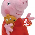 "Ty Beanie Babies Peppa Pig 6"""