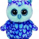 """Ty Beanie Boo Oscar The Blue Owl 6"""""""