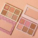 Face Blusher 6-color Hybrid Highlight Blush Palette