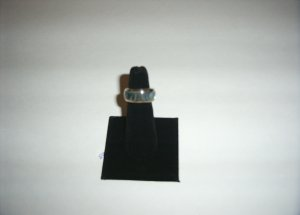 Sterling Silver Abalone Shell Ring  35-0003
