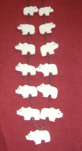 All Same Animal Necklace-Picasso Marble