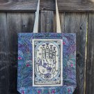 """Divine Vanity """"Mystic Peacock"""" Tote Bag"""