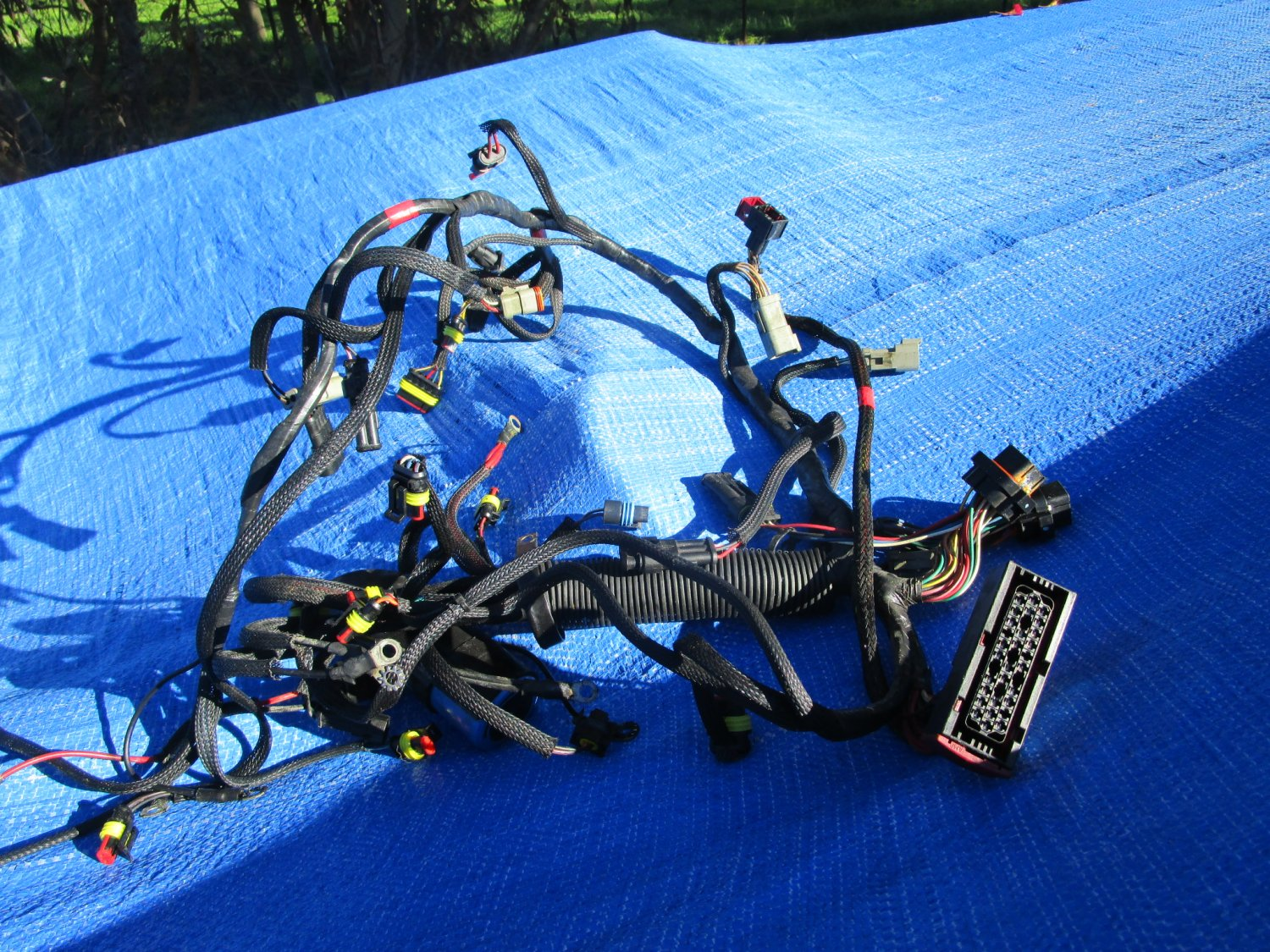 EVINRUDE OUTBOARD ETEC 115HP Base & Harness Assy 0586891
