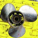 """evinrude johnson stainless Solas propeller 14.5""""x15 9531-145-15 spline"""