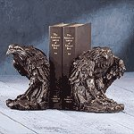 Eagle Head Bookends