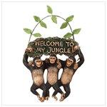 monkeys welcome sign