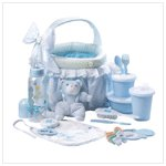 Baby Soft Basket Gift Set