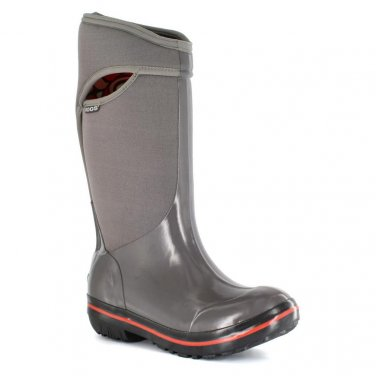 BOGS // Plimsoll Tall Gray Boots