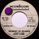 Lynn, Judy - Moment Of Silence / The Prospector - Vinyl 45 Record on Musicor - Promo - Country