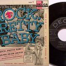 "Rock Pretty Baby - Jimmy Daley & The Ding-A-Lings - Vinyl 7"" EP Record + Cover - Soundtrack"