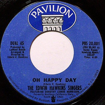 Hawkins, Edwin Singers - Oh Happy Day / Jesus Lover Of My Soul - Vinyl 45 Record - Gospel