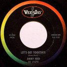 Reed, Jimmy - Let's Get Together / Oh John - Vinyl 45 Record On Vee Jay - Blues