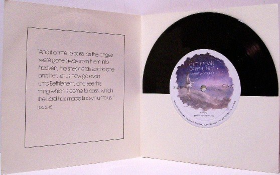 "Womach, Merrill - Christmas 7"" Record with Card and Mailer"