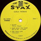 "Thomas, Carla - 7"" Vinyl EP Record on Stax - Six Songs - R&B Soul"