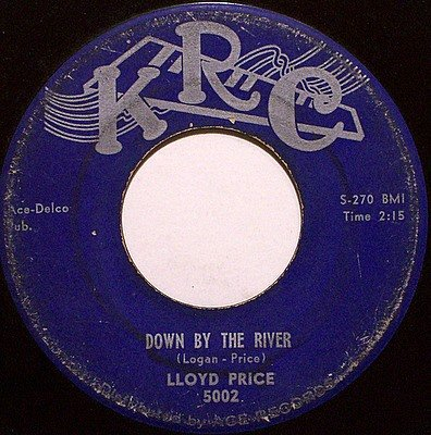 Price, Lloyd - Down By The River / Gonna Let You Come Back Home - Vinyl 45 Record on KRC - R&B Soul
