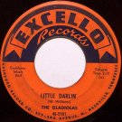 Gladiolas, The - Little Darlin' / Sweetheart Please Don't Go - Vinyl 45 Record on Excello - R&B Soul