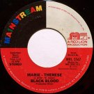 Black Blood - Marie Therese / A.I.E. (A Mwana) - Vinyl 45 Record - R&B Soul Latin Funk