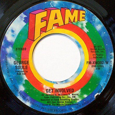 Soule, George - Get Involved / Everybody's Got A Song To Sing - Vinyl 45 Record - R&B Soul