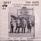 Meet The Kids - Flipped Hair And Lace - Vinyl 45 Record + Picture Sleeve - Manowar - Rock