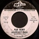 Grier, Roosevelt - Bad News / Ring Around The World - Vinyl 45 Record on AGP - Promo - R&B Soul