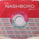 Avons, The - Since I Met You Baby / He's My Hero - Vinyl 45 Record on Excello - R&B Soul