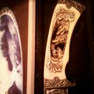 """Wolf Knife Blade Approx 4 1/2"""" Long 1 1/2"""" Wide Total Length Approx 9 3/4""""..."""