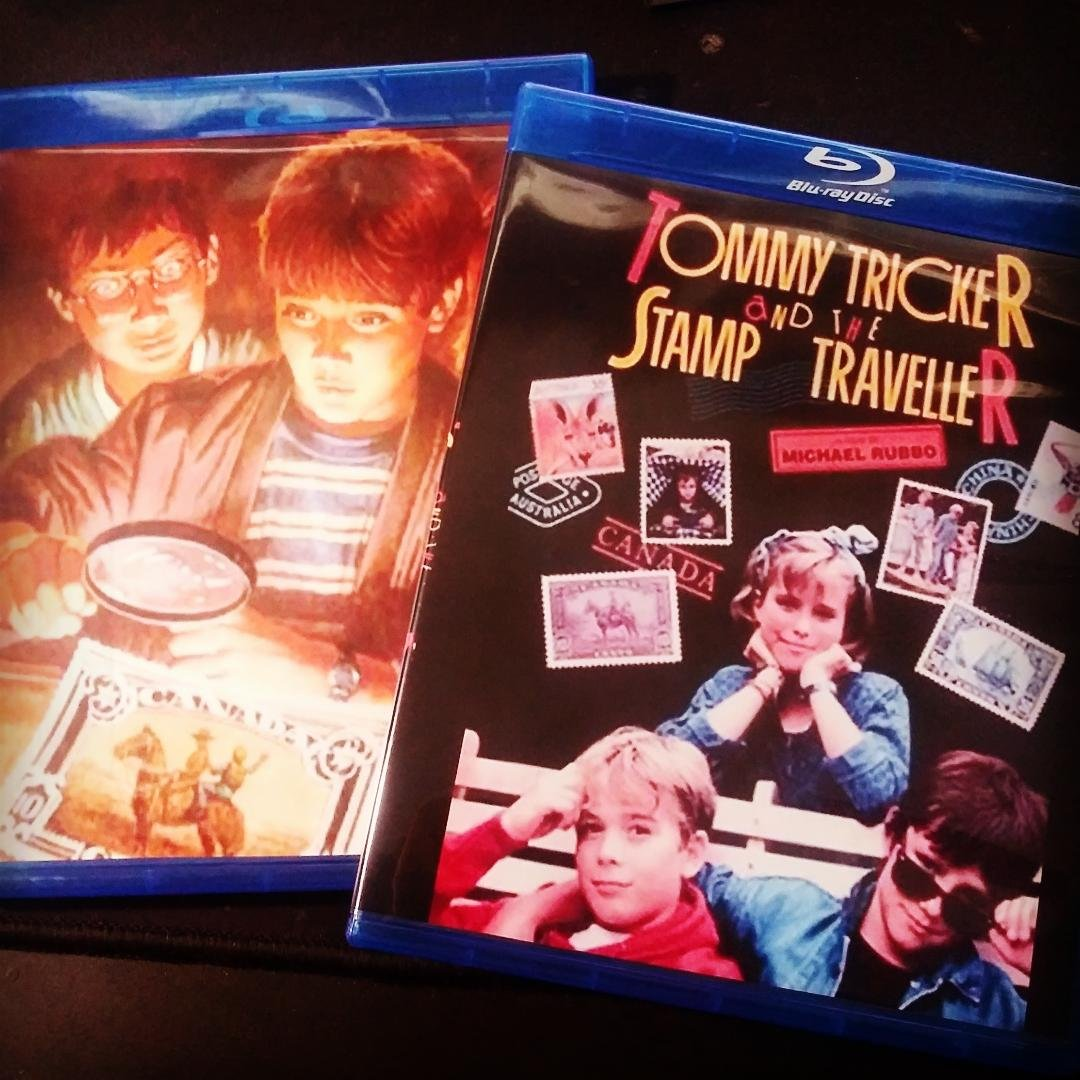 Tommy Tricker and the Stamp Traveller (1988) Region Free Bluray 1080p