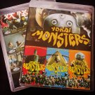 Yokai Monsters Trilogy 3 Films Region Free Bluray English Subtitles