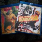 The War of the Gargantuas 1966 Region Free Bluray Kaiju 6 Audio Tracks Subtitles
