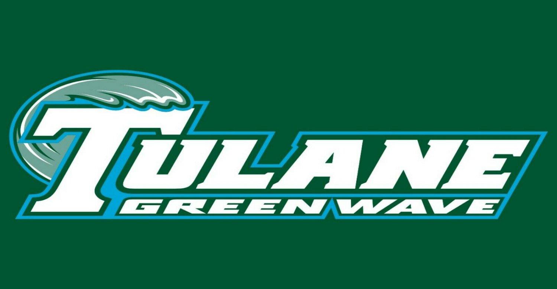 Tulane Greenwave Football Logo Custom License Plate Name