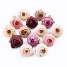 10pcs Decorative flowers wall wedding bridal  clearance diy gifts artificial flowers silk tea roses