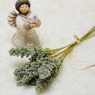 6Pcs/Pack Artificial Vanilla Mini Foam Berry Spike Artificial Flowers Bouquet for Home Decoration