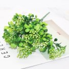 7 Branches green artificial berry bouquet artificial plants mini leaf