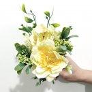 Artificial Peony Silk Flowers DIY Hydrangea Plastic Fake Flowers Home  Decoration