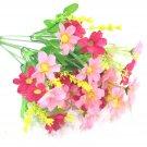 7 forks Artificial Gerbera Daisy Flower Bouquet for Home Garden Decoration DIY Flower Wall Bouquet