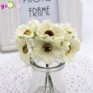 Artificial Poppy Bouquet DIY Handmade Tattoo Wreath Wedding Decoration Craft Fake Flower
