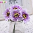 Artificial Poppy Bouquet DIY Handmade Tattoo Wreath Wedding Decoration Craft Fake Flower