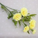 Artificial flowers home wedding decor accessories diy Mother's Day gift fake flowers silk carnation