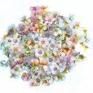 Multicolor Mini Silk Artificial Daisy Flower Head Garland Decoration Handmade DIY Scrapbooking Craft