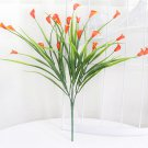 25 heads bouquet mini artificial calla with leaf fake plastic lily Aquatic plants home room decor