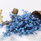 Cherry Blossoms Artificial Flowers Baby's Breath Gypsophila Fake Flowers Home Bouquet Faux Flowers