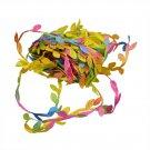10 Meter Silk Leaf-Shaped Handmake Artificial green Leaves For  Decoration  Fake Flower