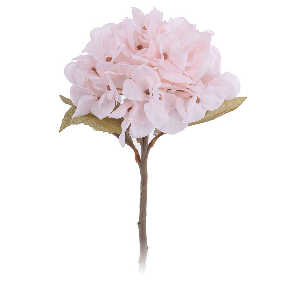 Artificial hydrangea flowers home silk plastic flower high quality fake decoration