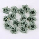 10pcs 4.5cm Silk Roses for Home Decoration Wedding DIY Garland Scrapbooking Gift Box DIY Flower