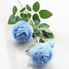 Heads Peony Artificial Flowers Silk Rose Fake Flowers For Wedding Decoration Living Room Home Decor