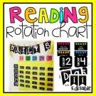 Reading Center Rotation Chart