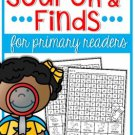 Search and Finds (for primary readers)
