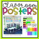 Classroom Posters Set