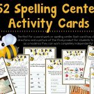 Spelling Center Activity Cards