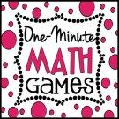 One Minute Math Games: 10 Mental Math Games